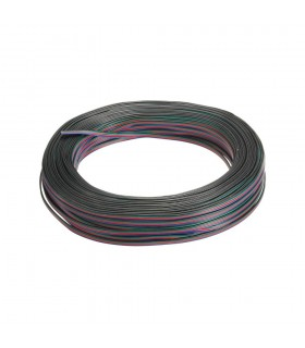 100m reel RGB 4-core 0.35mm² LED strip light cable