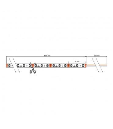 LED line® strip 3528 SMD 300 LED 12V multi-white 3200-7000K IP20 -