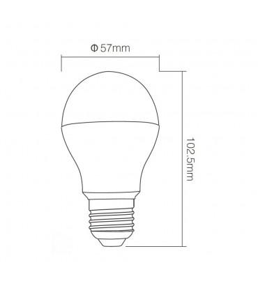 Mi-Light 6W RGBW LED light bulb FUT014 cold white  -