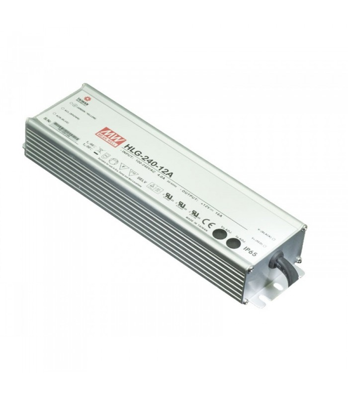 Mean Well HLG-240H-12A waterproof LED power supply 12V 240W IP65 -
