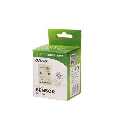 ORNO twilight switch 2300W IP65 OR-CR-233 - packaging