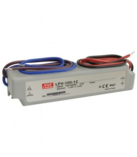 Mean Well LPV-100-12 LED power supply 12V 100W IP67 -