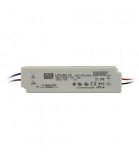 Mean Well LPV-60-12 LED power supply 12V 60W IP67 -