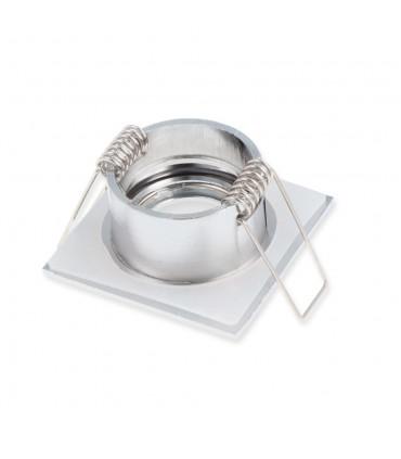 LED line® MR11 square waterproof ceiling downlight IP44 chrome - back