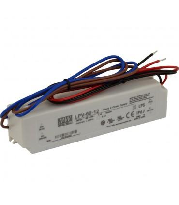 Mean Well LPV-60-12 LED power supply 12V 60W IP67 -