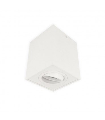 LED line® GU10 surface mounted CUBO adjustable square downlight -