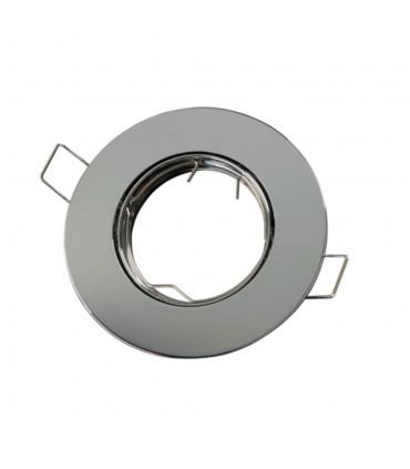 LED line® MR16 flat adjustable ceiling downlights - chrome