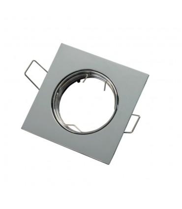 LED line® MR16 square adjustable ceiling downlights - chrome