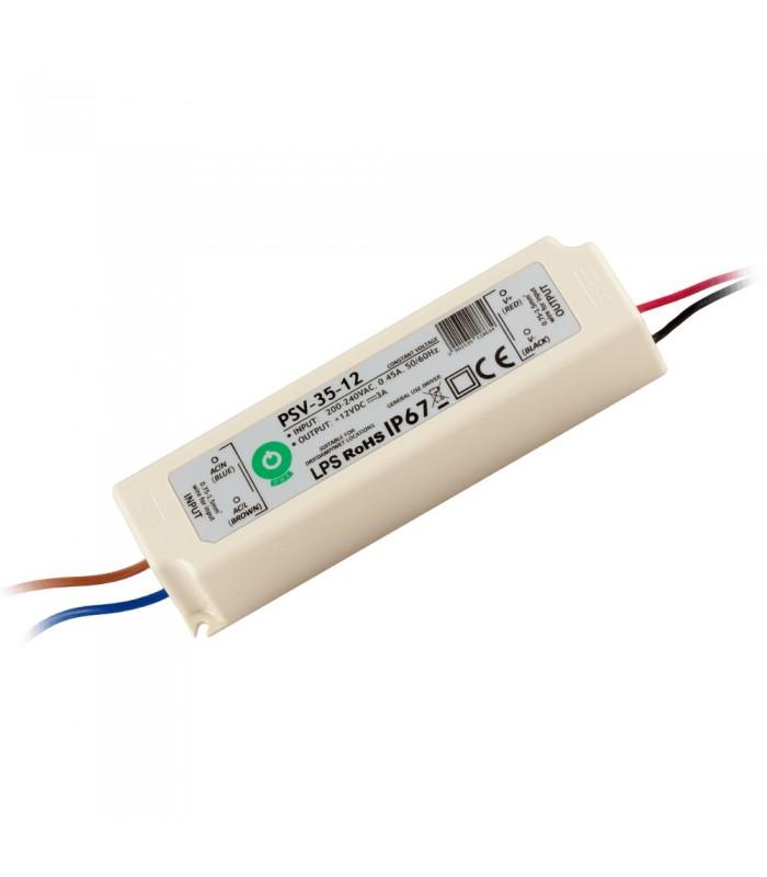 POS waterproof PSV power supply 35W 2.9A IP67 -