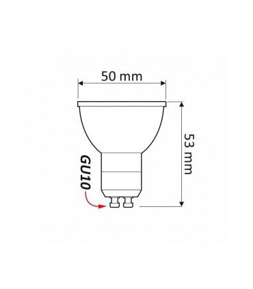 LED line® GU10 spotlight bulb 36° SMD 3W -