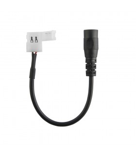 2.1mm x 5.5mm DC female to 8mm single colour connector -