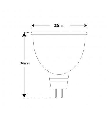 Ceramic led bulb mr11 3w