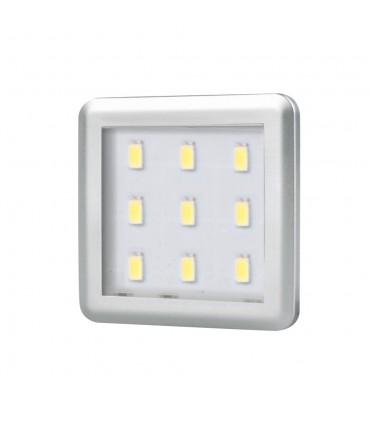 Design Light under cabinet SQUARE LED light 2.5W - aluminium