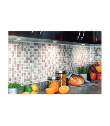 Design Light under cabinet SQUARE LED light 2.5W - application