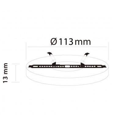 LED line ® EasyFix round panel downlights -