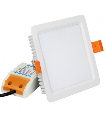 Mi-Light 9W RGB+CCT square LED downlight FUT064