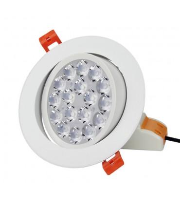 Mi-Light 9W RGB+CCT LED ceiling spotlight FUT062