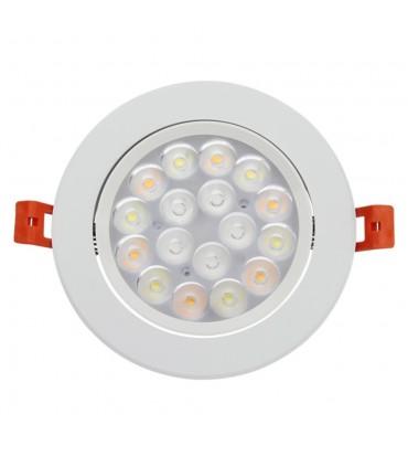 Mi-Light 9W RGB+CCT LED ceiling spotlight FUT062 - adjustable ceiling light