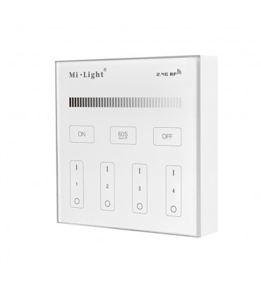 Mi-Light 4-zone brightness dimming smart panel B1