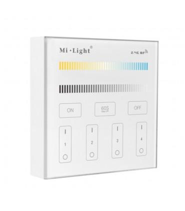 Mi-Light 4-zone CCT adjust smart panel B2 - wall panel