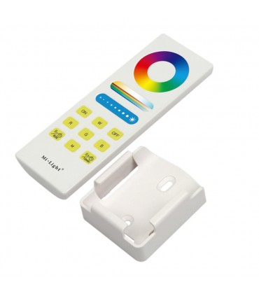 Mi-Light RGB+CCT full touch remote controller FUT088 - wall holder included