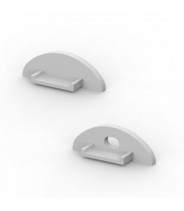 TECH LIGHT aluminium profile end caps -