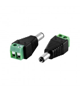 2.1mm x 5.5mm male DC power connector -