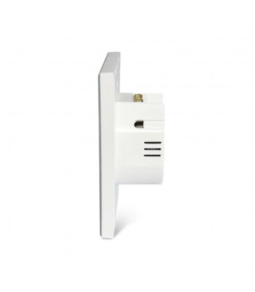 NEO WiFi smart light switch 2 gangs side view