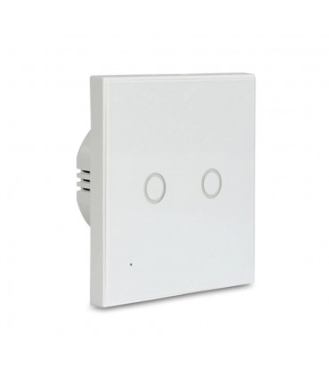 NEO WiFi smart light switch 2 gangs SC02WE