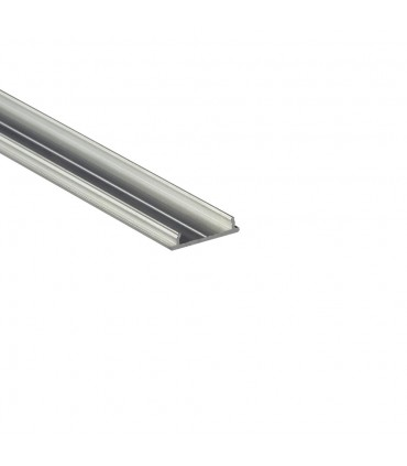 TOPMET raw aluminium LED profile FIX12 silver LED strip mounting extrusion