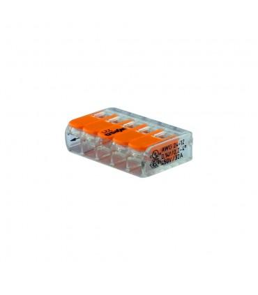 WAGO 221-415 5-way lever connector 32A