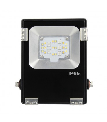 Mi-Light 10W RGB+CCT LED floodlight FUTT05 - mains powered smart outdoor light