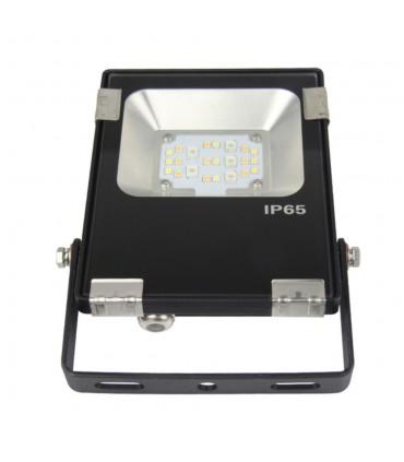 Mi-Light 10W RGB+CCT LED floodlight 24V DC FUTT06 - multicolour + multiwhite garden smart light
