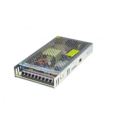 POS modular power supply POS-200-12-C 204W 17A - side view
