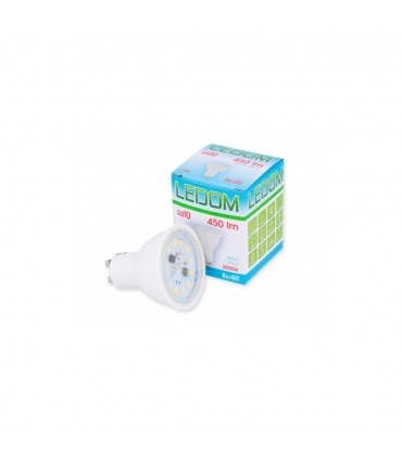 LEDOM GU10 spotlight bulb 5W SMD 450lm - warm white
