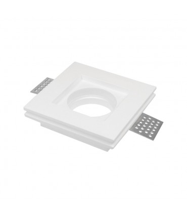 LED line® GU10 plasterboard recessed ceiling downlight PAVO white -