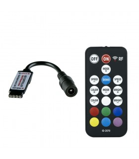 RGB 18 key RF mini remote controller ID-2070 -