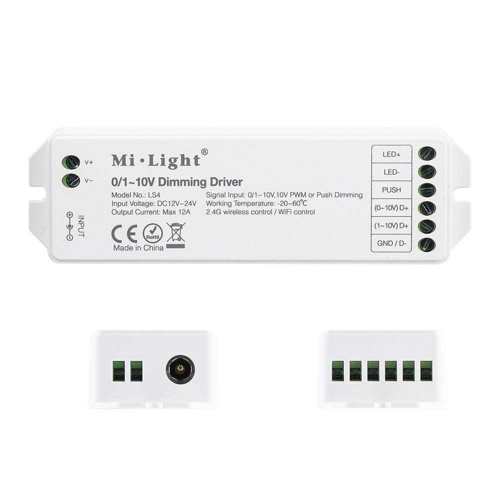 Mi Light 0 110v Dimming Driver Ls4 Led Strip Controller Smart Pwm Dimmer 010v Connection Diagram