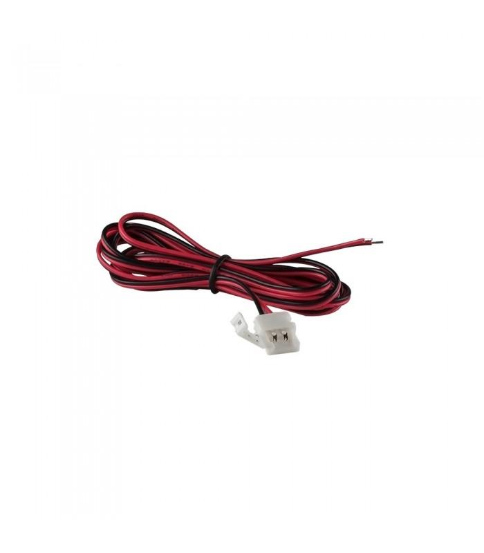 DESIGN LIGHT 2m single colour LED strip extension wire 8mm -