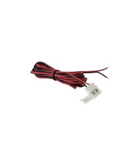 DESIGN LIGHT 2m single colour LED strip extension wire 10mm -