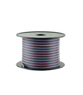 RGBW 5-core 0.35mm² LED strip light cable -