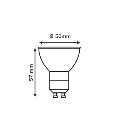 LEDOM GU10 spotlight bulb 7W SMD 581lm -