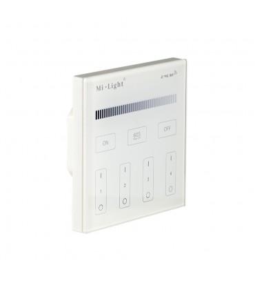 Mi-Light 4-zone brightness dimming smart panel remote controller T1 wall panel