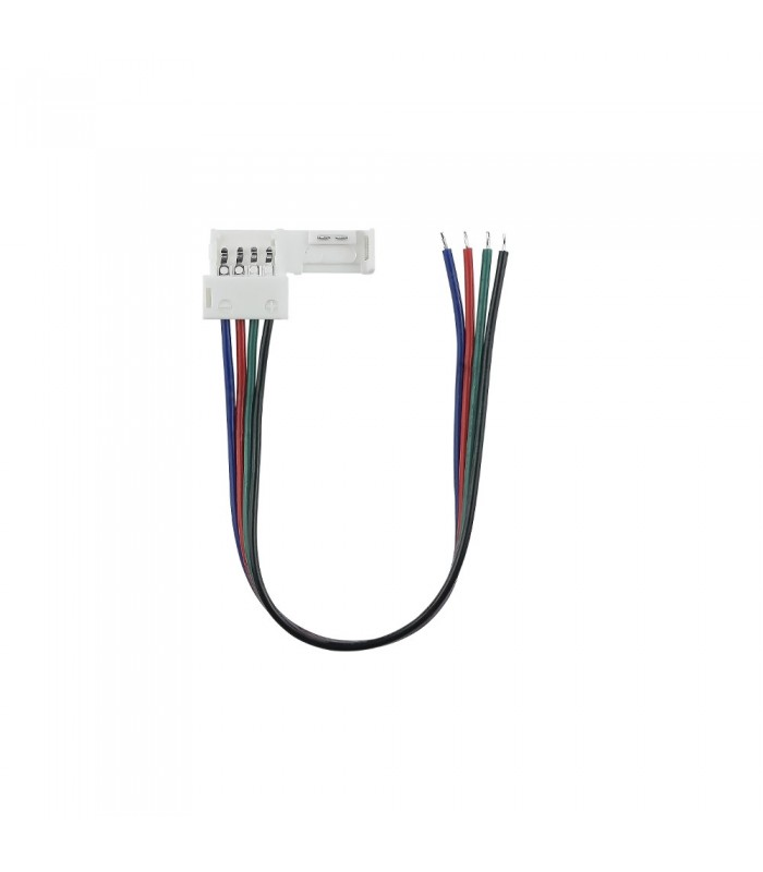 10mm RGB 4 pin wire connector -