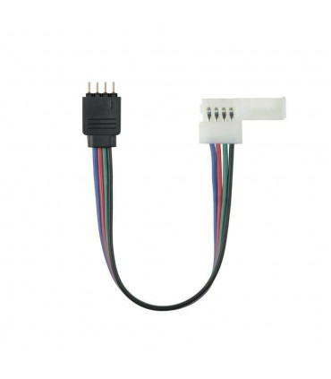 10mm RGB PCB to 4 pin female wire connector