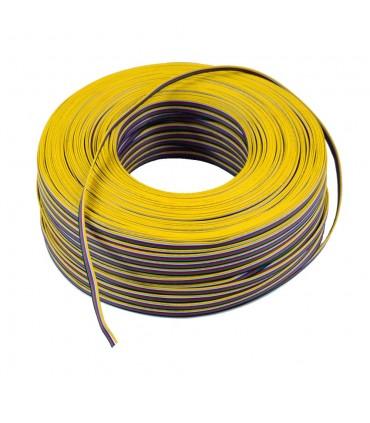 100m reel RGB+CCT 6-core 0.35mm² LED strip light cable