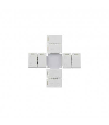 8mm single colour X type clip connector -