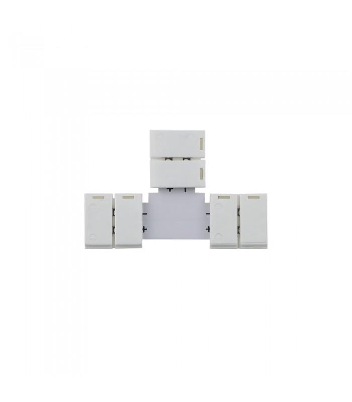 10mm single colour T type clip connector -