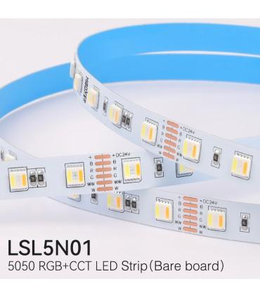 MiBoxer 5050 RGB+CCT LED strip 24V