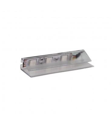 DESIGN LIGHT LED PVC RGB clip for glass shelving